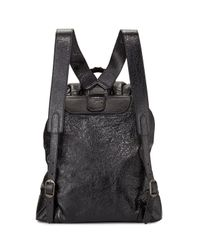Balenciaga Gray Classic Lambskin Traveler Backpack