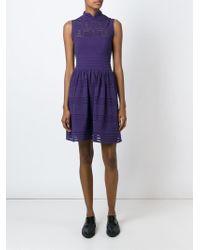 M Missoni | Pink Sheer Crochet Dress | Lyst
