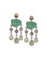 Stephen Dweck - Metallic Freeform Turquoise Drop Earrings - Lyst
