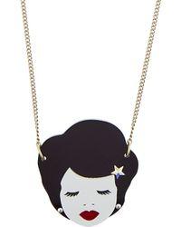 Tatty Devine | Metallic Virgo Birthday Necklace | Lyst
