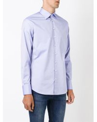 DSquared² - Blue Classic Shirt for Men - Lyst