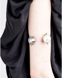 Lanvin | Metallic Bracelet | Lyst