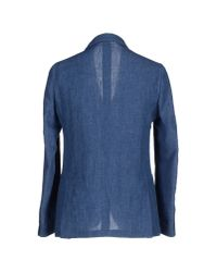 Lardini | Blue Blazer for Men | Lyst