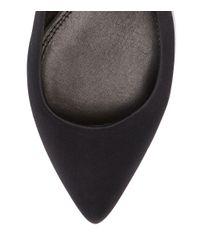 Tory Burch Black Darley Pointy-toe Flat