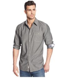Weatherproof - Black Vintage Chambray Shirt for Men - Lyst