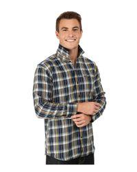Volcom - Blue Bartlet Long Sleeve Woven for Men - Lyst