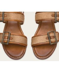 Frye | Brown Phillip Buckles | Lyst