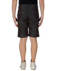 Ring - Gray Bermuda Shorts for Men - Lyst