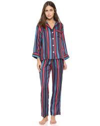 Sleepy Jones - Multicolor Marina Silk Pajama Pants - Lyst