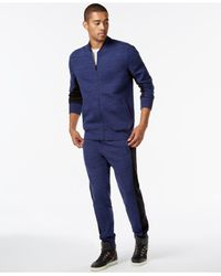 Sean John | Blue Alpha Noir Track Suit Set for Men | Lyst