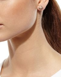 Anita Ko | Pink Pyramid Diamond Stud Earrings | Lyst