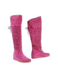Suzie Mas - Multicolor Boots - Lyst