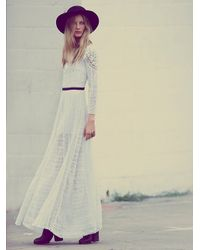 Free People - Merrie's White Victorian - Lyst