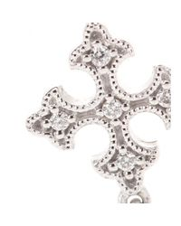 Stone - Metallic Passion Simple 18kt White Gold Necklace With White Diamonds - Lyst