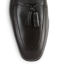Ferragamo - Brown Loreno Tasseled Loafers for Men - Lyst