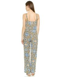 Tigerlily Multicolor Mallorca Tile Jumpsuit - Solaire