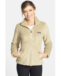 Patagonia Natural 'los Gatos' Water Repellent Fleece Jacket