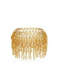 Wilfredo Rosado - Metallic 18k Yellow Gold Fringe Bracelet - Lyst