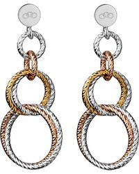 Links of London - Metallic Aurora Double Link Earrings - For Women - Lyst