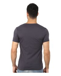 BOSS Orange - Blue Tripolo 3 Washed Single Jersey Graphic Tee for Men - Lyst