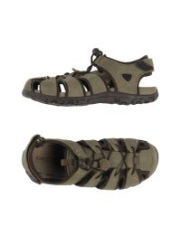 Geox - Green Sandals for Men - Lyst