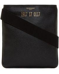 Givenchy Black Small Codification Crossbody Bag for men