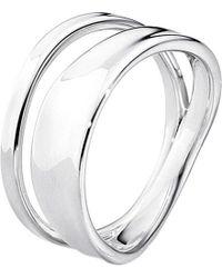 Georg Jensen | Metallic Marcia Sterling Silver Ring | Lyst
