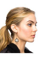 Lulu Frost - White Decade Drop Earring - Lyst