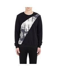 Lot78 Black Borough Hall Sweatshirt for men