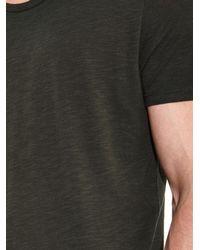 American Vintage Gray Jacksonville T-Shirt for men