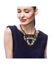 Lulu Frost | Metallic Bloom Necklace | Lyst