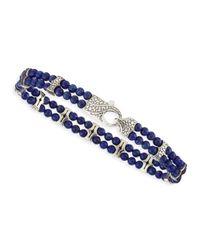 Stephen Webster - Blue Rayman 2-Row Lapis Bracelet - Lyst