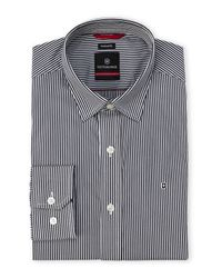 Victorinox - Gray Tailored Fit Fribourg Dress Shirt for Men - Lyst