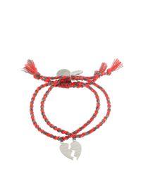 Venessa Arizaga - Orange Made For Each Other Bracelets - Lyst