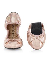 Butterfly Twists | Pink Sienna Ballerina Shoe | Lyst