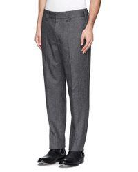 Rag & Bone Gray 'walker' Herringbone Pants for men
