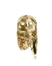 Dominique Lucas - Metallic Owl Ring Gold - Lyst