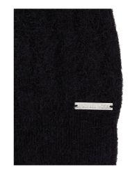 Michael Kors - Black Rib Knit Hat - Lyst