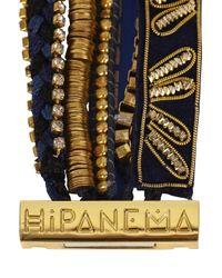 Hipanema - Blue Sapphire Embellished Cuff - Lyst
