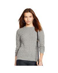 Polo Ralph Lauren - Gray Julianna Sweater - Lyst