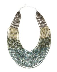 Nakamol | Green Beaded Statement Necklace | Lyst