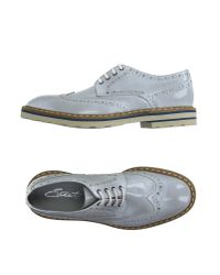 Eveet - Gray Lace-up Shoes for Men - Lyst