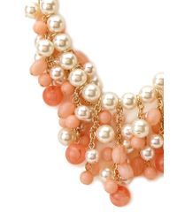Forever 21 - Orange Baubles and Beads Necklace - Lyst