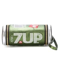 Anya Hindmarch Green '7up' Clutch Bag