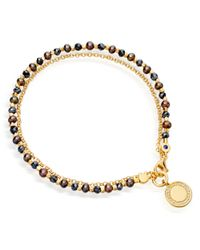 Astley Clarke | Blue Agate Double Happiness Biography Bracelet | Lyst