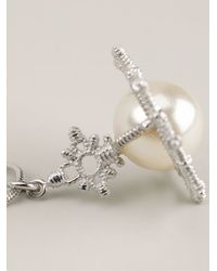 Vivienne Westwood   White 'isolde' Pearl Pendant Necklace   Lyst
