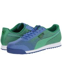 PUMA | Blue Roma Engineer Camou Sneaker for Men | Lyst