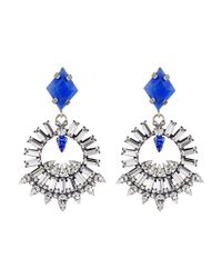 DANNIJO - Metallic Avril Earrings - Lyst