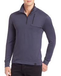 Victorinox | Blue Moraine Tech Quarter-zip Pullover for Men | Lyst