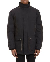 Rainforest - Black Jacket With Removable Down Liner for Men - Lyst